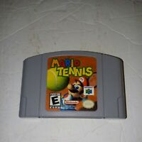 Mario Tennis Nintendo 64 N64 Cart Tested and Good Working Condition!