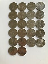 UK Commemorative Great British Coin Hunt 50p Fifty Pence Coins - Free Post