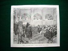 Napoli nel 1897 - Il Congresso giuridico, la seduta inaugurale