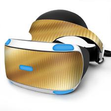 Skin Wrap for Sony Playstation PSVR Headset Gold Pattern Shiney