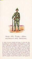 A2775) ALPINO IN DIVISA DEL 1911.