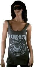 Amplified Official Ramones logotipo Hey ho Let's Go vintage VIP Tank Top camisa M