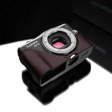 GARIZ Genuine Leather Case Panasonic GF6 Brown XS-CHGF6BR