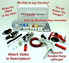 Velocity EXPRESS Auto Glass Windshield Windscreen Rock Chip Resin Repair Kit