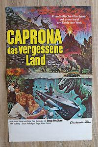 orig Kino Plakat - CAPRONA das vergessene Land 1974 Doug McClure The Land that T