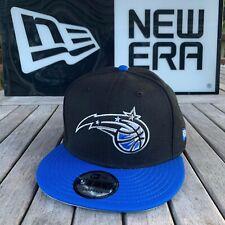 New Era Orlando Magic Snapback Hat Black/Royal/Ball Logo NBA