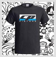 CP PISTONS Carrillo Logo Racing Ring NEW Men's Black T-Shirt S M L XL 2XL 3XL
