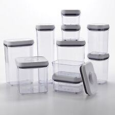 Oxo Good Grips 10-Piece Food Storage Pop Container Set ~~ Brand New !!!