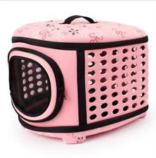 Portable EVA Pet Dog Cat Rabbit Travel Carrier Cage, Collapsible