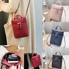 Luxury Leather zipper Pocket card wallet+ Strap Purse Shoulder Bag Pouch Case