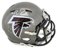 Falcons Matt Ryan Authentic Signed Chrome Speed Mini Helmet Fanatics COA