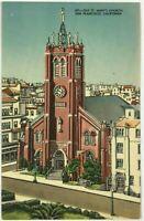 Old Saint St. Mary's Church San Francisco California Chinatown CA VTG Postcard