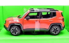 MODELLINO AUTO JEEP RENEGADE SCALA 1:24 CAR MODEL MINIATURE DIECAST WELLY NUOVI