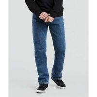 Men's Levi's 505 Regular Fit Denim Jeans Straight Leg Blue Size W40xL30 MSRP $60