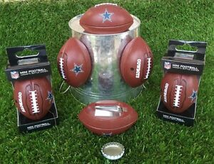 DALLAS COWBOYS - (LOT of 6) MAGNETIC FOOTBALL BOTTLE OPENERS!!!