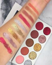 Glamierre - 10 Color Matte Glitter Glam Eyeshadow Palette - New&Authentic