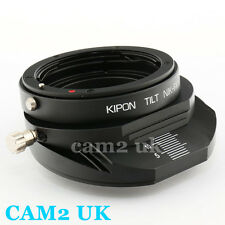 Kipon Tilt adapter for Nikon F AI-S AF lens to Fujifilm X-Pro1 FX mount E1 M1