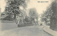POSTCARD   KENT  BEXLEY STREET  PONY & TRAP  Circa 1906