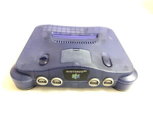 Nintendo 64 console N64 2 games and code included. region Japan model