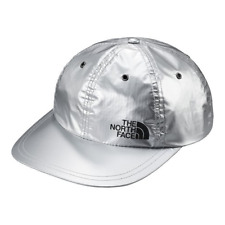 1a889daa61b73 100 Authentic Supreme X The North Face 6 Panel Hat Silver Metallic Ss18