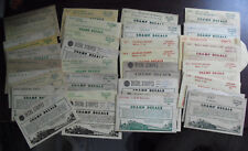Lot of 33 Vintage HO Scale Champ Train Car and Stripes Decals