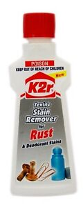 K2R Textile Stain Remover for Rust & Deodorant Stains 50ml