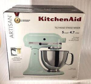 KitchenAid Artisan Tilt-Head Mixer- 5 Quart -4.7 l - Ice - New - Save up to 20 %