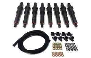 89-94 Ford 7.3L IDI Diesel Reman Injector Set & Return Line Kit (3005)