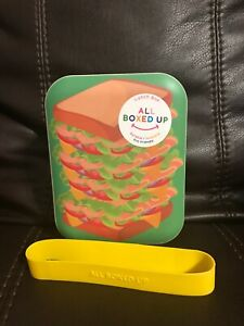 All Boxed Up Sandwich Lunch Box Durable Reusable Eco Friendly