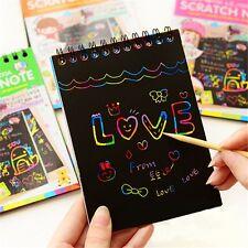 HOT Fun DIY Doodling Magic Painting Book Children Educational Toy Teaching Gift