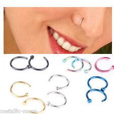 Nose Ring Nose Studs Set Titanium Tragus Helix Piercings Nose Screws Nose Hoop