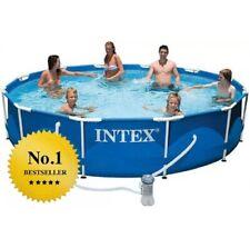 INTEX PISCINA FUORI TERRA 28212  366 x 76 cm con pompa filtro INCLUSA !!!