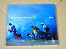 CD Georges Aperghis - Avis de tempête - ictus - DSD - SACD - CYP5621