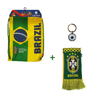 Brazil FIFA Official Russia 2018 World Cup Official  Cinch Bag Scarf brasil