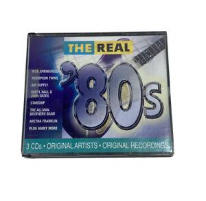 Various Artists : Real 80's Rock 3 Discs CD