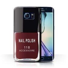 Étuis, housses et coques rouge Samsung Galaxy S6 pour téléphone mobile et assistant personnel (PDA) Samsung