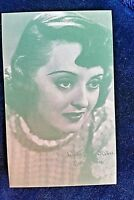 Bette Davis Arcade Exhibit Card 1940's  ARCADE CARD