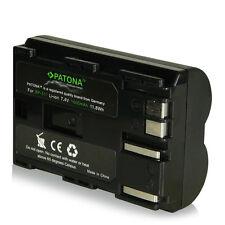 Batteria BP-511 BP511 patona premium 1600 mah PER CANON Camcorder MV30 | MV30i