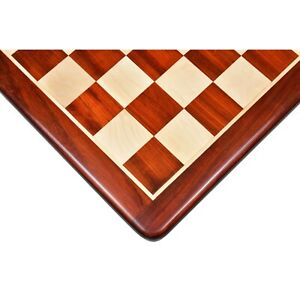 """21"""" Bud Rosewood & Maple Wood Chess board with 55 mm Wooden Square"""