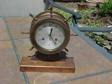 Original Vintage Ship / Nautical Clock - Lexon - Germany<
