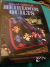 Heirloom Quilts 1997 Leisure Arts Quilting Book-pretty guilts