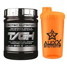 Scitec Nutrition T/GH Testosterone 240g unflavored DAA D-Asparaginsäure + Bonus