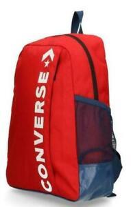 Converse Speed 2 Backpack Rot  / Blau Rucksack - Chuck Taylor All Stars Tasche