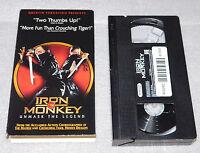 Iron Monkey VHS 2002 Quentin Tarantino Jean Wang Tsang Sze Man Martial Arts