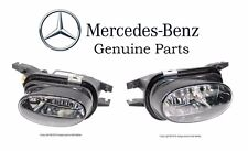 Mercedes W203 W209 W211 W215 W230 Set of Front Left & Right Fog Light Genuine