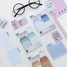 1pcs Sticker Post It Bookmark Marker Memo Pads Index Flag Sticky Notes Guestbook