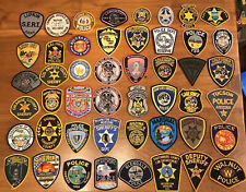 48 Piece Police Patch Trader Lot - Every Patch Is Unused