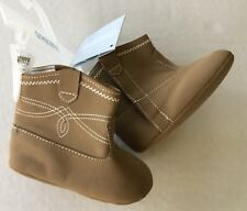 NWT Gymboree Pony Ranch Sz 3 03 Crib Cowboy Boot Booties for 6-12 Months