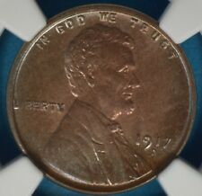 1917-D Lincoln Wheat Cent NGC MS64BN- Very Sharp Tone, Eye Appeal, PQ