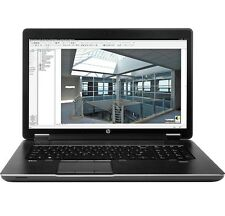 HP Zbook 17 G1 i7-4800MQ 480 SSD laptop notebook workstation work station cad